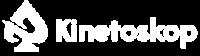 kinetoskop white logo